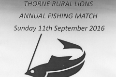 Annual Fishing Match - Promo