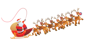 Santa Sleigh Route 2017